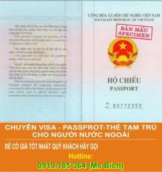 Làm Hộ Chiếu ngoại tỉnh, không KT3 nộp và nhận kết quả tại tỉnh